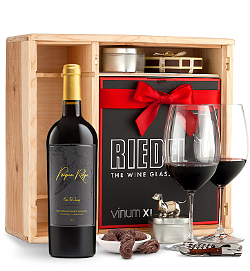 Wine Gift Boxes: Peregrine Ridge One Fell Swoop Cabernet Sauvignon Private Cellar Gift Set