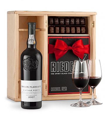 Port Gift Sets: Taylor Fladgate Vintage Port 2007 Gift Set
