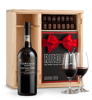 Port Gift Sets: Fonseca Vintage Port 2007 - Gift Set