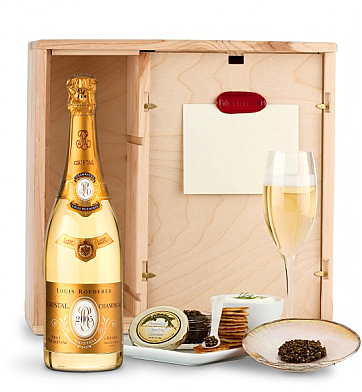 Champagne & Caviar: Louis Roederer Cristal Brut 2005 Ultimate Champagne & Caviar Experience