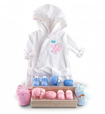 Baby Gift Baskets: Spa Baby Gift Collection
