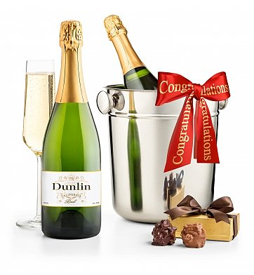 Champagne Gifts: Congratulations First Class Champagne Gift
