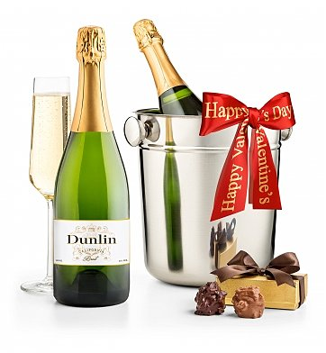 Champagne Gifts: Valentine's Day First Class Champagne Gift