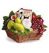 Food & Fruit Baskets: Delicious Delights Basket