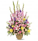 Funeral Flowers: Ever Upward Bouquet