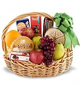 Food & Fruit Baskets: Deluxe Fruit Basket
