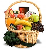 Food & Fruit Baskets: Special Delivery Gourmet Fruit Basket
