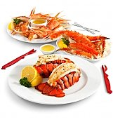 Gourmet Gift Baskets: Crustacean Sensation Lobster & Crab Dinner
