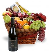 Wine & Fruit Baskets: Spiritual Surprise