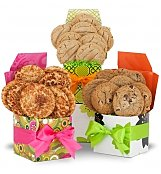 Cookie Gift Baskets: Celebration Gift Set with Two Dozen Cookies
