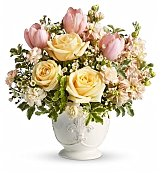 Flower Bouquets: Peaches & Dreams Bouquet