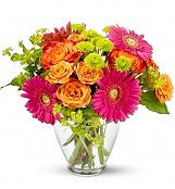 Flower Bouquets: End of the Rainbow