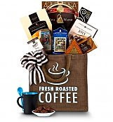 Coffee & Tea Gift Baskets: Hawaiian 100% Kona Coffee & Premium Treats
