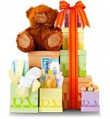 Baby Gift Baskets: Beautiful Baby Gift Tower