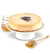 Cakes and Desserts: Honey Lavender Cheesecake