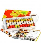 Coffee & Tea Gift Baskets: Around the World Exotic Tea Collection