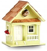 Home Decor: Handcrafted Birdhouse