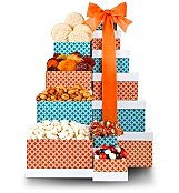 Gift Towers: Sweet & Savory Snack Tower