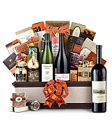 Premium Wine Baskets: The Hamptons Luxury Wine Basket-Quintessa Meritage Red 2008