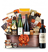 Premium Wine Baskets: The Hamptons Luxury Wine Basket-Groth Cabernet Sauvignon 2008