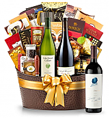 Premium Wine Baskets: The Hamptons Luxury Wine Basket-Opus One 2009