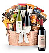 Premium Wine Baskets: The Hamptons Luxury Wine Basket-Penfolds Grange 2007
