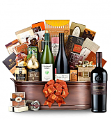 Premium Wine Baskets: The Hamptons Luxury Wine Basket- Joseph Phelps Insignia Red 2009