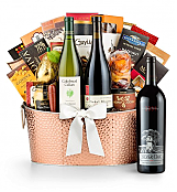 Premium Wine Baskets: The Hamptons Luxury Wine Basket-Silver Oak Napa Valley Cabernet Sauvignon 2009
