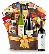Premium Wine Baskets: The Hamptons Luxury Wine Basket-Opus One 2011