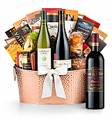 Premium Wine Baskets: The Hamptons Luxury Wine Basket-Leonetti Reserve Red 2010