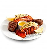 Gourmet Gift Baskets: Surf & Turf