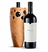 Wine Accessories & Decanters: Merryvale Profile 2010 with Handmade Wooden Wine Vase