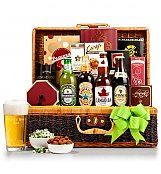 Gourmet Gift Baskets: World's Best Dad Gourmet Beer Basket