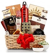 Gourmet Gift Baskets: Dad's Gourmet Snack Basket