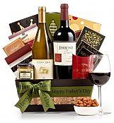 Wine Baskets: Happy Father's Day Wine & Gourmet