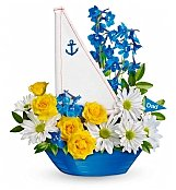 Flower Bouquets: Come Sail Away Bouquet