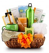 Coffee & Tea Gift Baskets: Luxury Spa Treatment Gift Set