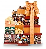 Gift Towers: Coffee Companion Gourmet Gift Tower
