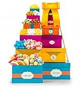 Gift Towers: Tropical Indulgence Gourmet Tower