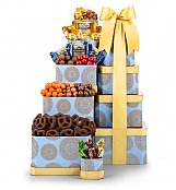 Gift Towers: Holiday Chocolate Tower