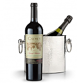 Wine Totes & Carriers: Luxury Wine Chiller with Caymus Special Selection Cabernet Sauvignon 2011