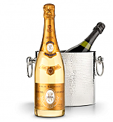 Wine Accessories & Decanters: Louis Roederer Cristal Brut 2006 with Luxury Wine Chiller