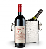 Wine Accessories & Decanters: Penfolds Grange 2010 with Luxury Wine Chiller