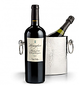 Wine Accessories & Decanters: Hourglass Blueline Estate Cabernet Sauvignon 2013 with Luxury Wine Chiller