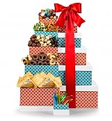 Gift Towers: Select Cheese & Nuts Gift Tower