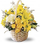 Flower Bouquets: The Flourishing Garden Basket