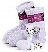 Spa Gift Baskets: Aromatherapy Booties for Mom
