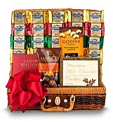 Chocolate & Sweet Baskets: Divine Decadence Gift Basket