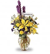 Flower Bouquets: Congratulations to You