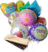 Balloons & Chocolate: Thinking of You Balloons & Chocolate-12 Mylar